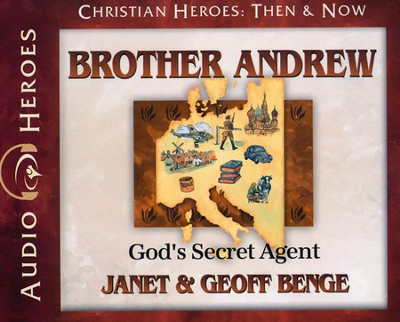 Christian Heroes Then & Now: Brother Andrew Audiobook on CD   -     By: Janet Benge, Geoff Benge, Tim Gregory