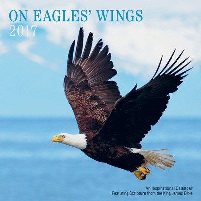 2017 On Eagles' Wings Wall Calendar  -