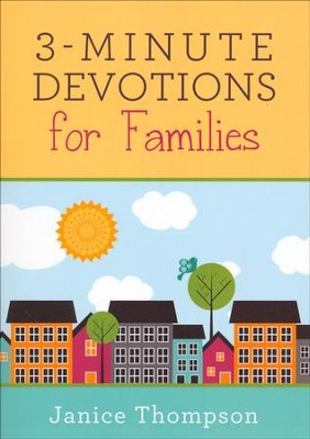 3-Minute Devotions for Families  -     By: Janice Hanna