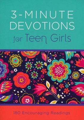 3-Minute Devotions for Teen Girls: 180 Encouraging Readings  -     By: Compiled by Barbour Staff