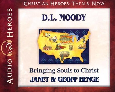 D.L. Moody  -     By: Janet Benge, Geoff Benge