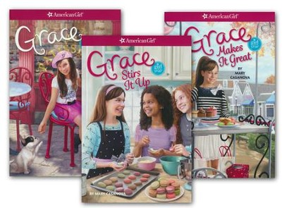 Grace Boxed Set, 3 Volumes  -     By: Mary Casanova