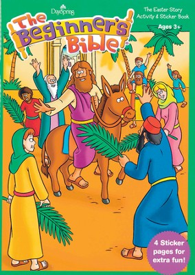Beginner's Bible Activity Book  -