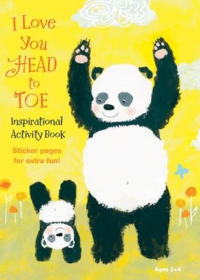 I Love You Head To Toe Activity Book  -
