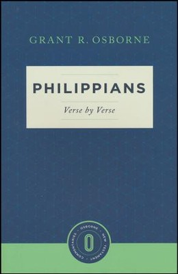 Philippians Verse by Verse: Osborne New Testament Commentaries   -     By: Grant R. Osborne