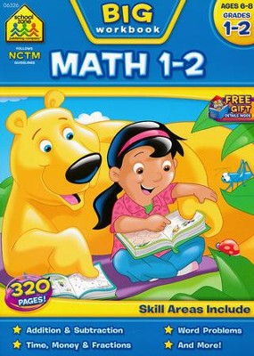 Big Math Grades 1-2 Workbook   -