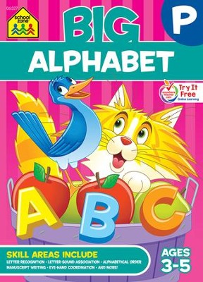 Big Alphabet Workbook, Ages 3-5   -