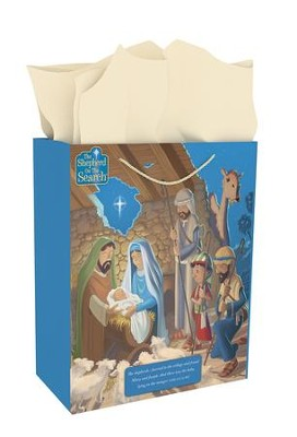 Shepherd On the Search Gift Bag, X-Large  -