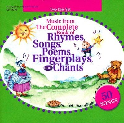 Music From Complete Book of Rhymes CD  -     By: Jackie Silberg
