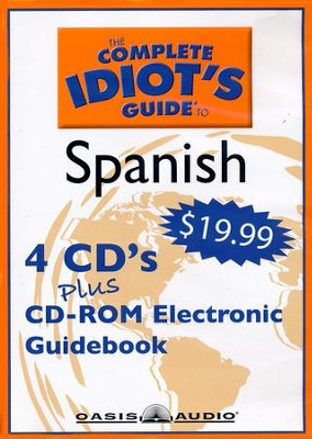 The Complete Idiot's Guide To Spanish Program 1 - audiobook on CD  -
