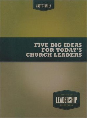 Five Big Ideas for Today's Church Leaders, DVD   -     By: Andy Stanley