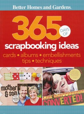 365 Days of Scrapbooking Ideas  -