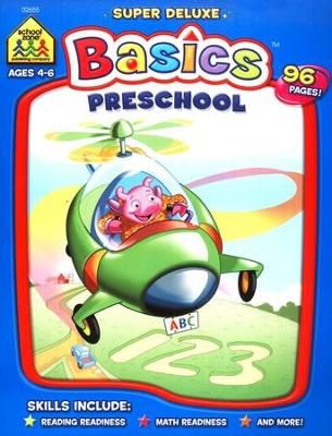The Super Deluxe Basics Series: Preschool Workbook   -