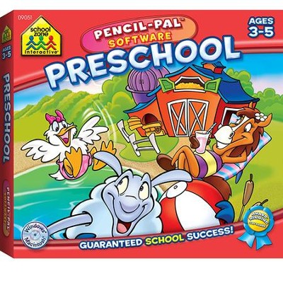 Preschool Pencil-Pal Software Mini Box Ages 3-5   -