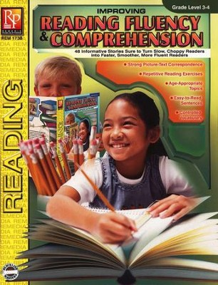 Improving Reading Fluency & Comprehension Grade Level 3-4  -