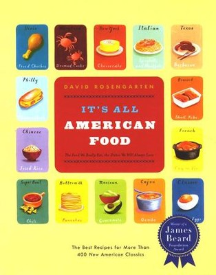 It's All American Food  -     By: David Rosengarten