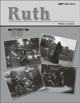 Extra Ruth Bible Story Lesson Guide   -