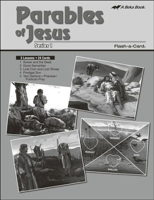 Extra Parables of Jesus 1 Bible Story Lesson Guide   -