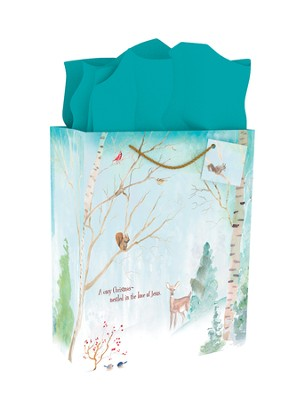 Nestled In the Love Of Jesus, Gift Bag  -
