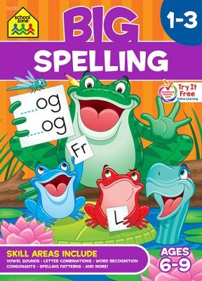 Big Spelling 1-3 Workbook   -