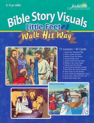 2s & 3s Little Feet Walk His Way Extra Bible Story Lesson Guide   -