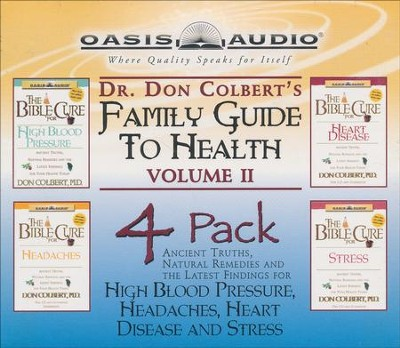 Dr. Colbert's Family Guide to Health 4-Pack, Vol 2 - audiobook on CD  -     By: Don Colbert M.D.