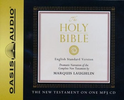ESV New Testament MP3 on CD-ROM   -     Narrated By: Marquis Laughlin     By: Various Authors