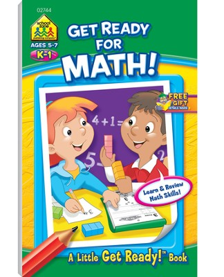 Get Ready for Math! Grades K-1   -
