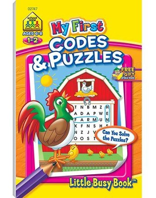 My First Codes & Puzzles Grades 1-2   -