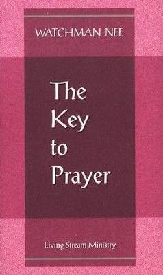 Key to Prayer  10/Package   -     By: Watchman Nee