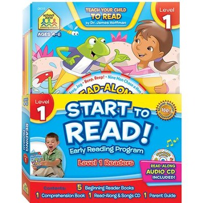 Start to Read, Level 1(6-Pack with CD-ROM)   -