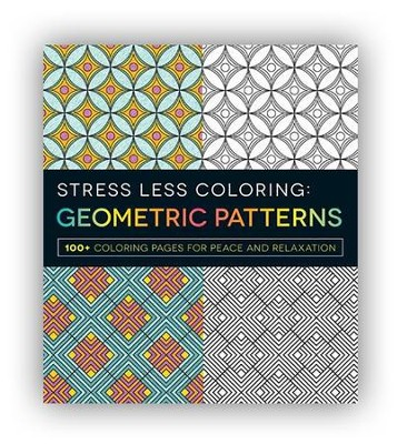Stress Less Coloring - Geometric Patterns  -