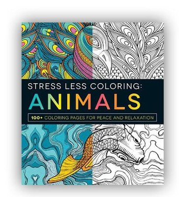Stress Less Coloring - Animals  -