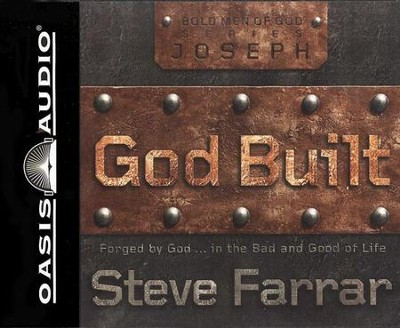 God Built: Joseph                        Audiobook on CD  -     By: Steve Farrar