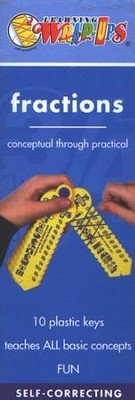 Wrap Ups Fractions Math Set, Revised   -