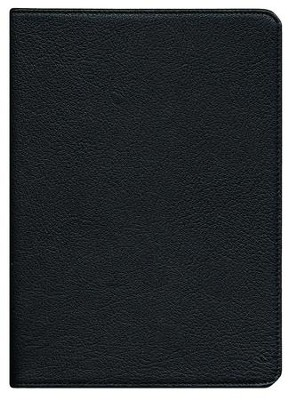 NIV Clarion Reference Bible, Goatskin, black   -