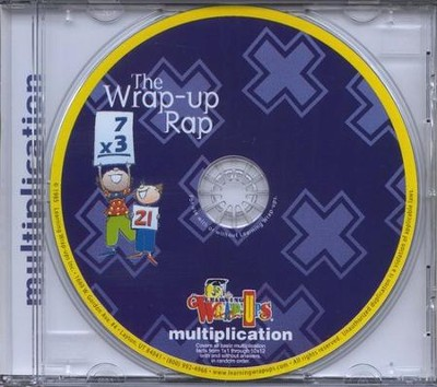 Multiplication Wrap-up Rap CD   -