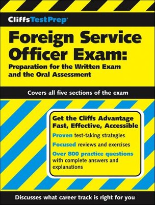 CliffsTestPrep Foreign Service Officer Exam: Preparation for the Written Exam and the Oral Assessment  -