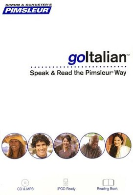 goItalian: Speak and Read the goPimsleur Way  -     By: Pimsleur