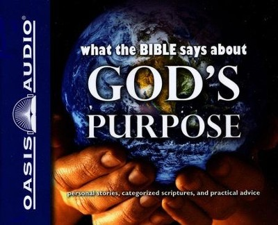 What the Bible Says About God's Purpose - Unabridged Audiobook on CD  -     Narrated By: Anna-Lisa Horton     By: Oasis Audio