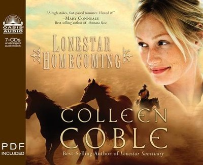 Lonestar Homecoming - Unabridged Audiobook on CD  -     By: Colleen Coble