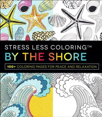 Stress Less Coloring: By the Shore   -