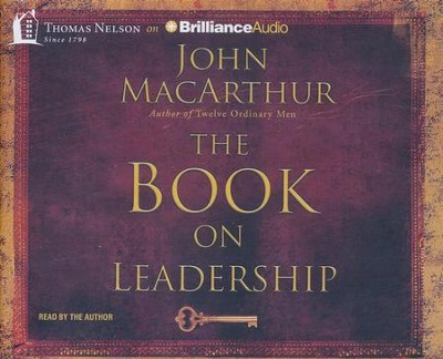 Book on Leadership - abridged audio book on CD  -     Narrated By: John MacArthur     By: John MacArthur