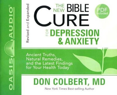 The New Bible Cure for Depression and Anxiety: Unabridged Audiobook on CD  -     By: Don Colbert M.D.
