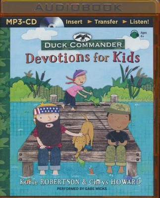 Duck Commander Devotions for Kids - unabridged audio book on MP3-CD  -     By: Korie Robertson