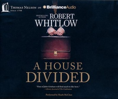 A House Divided - unabridged audio book on CD  -     By: Robert Whitlow