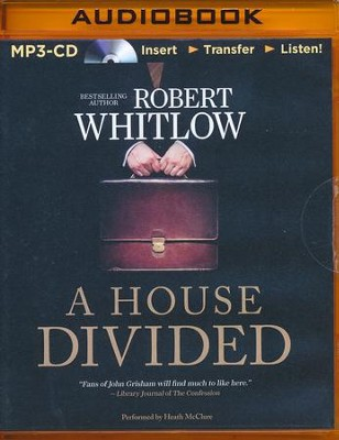 A House Divided - unabridged audio book on MP3-CD  -     By: Robert Whitlow