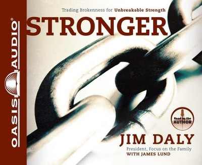 Stronger Unabridged Audiobook on CD  -     Narrated By: Jim Daly     By: Jim Daly, James Lund