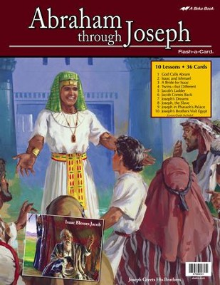 Abraham through Joseph Flash-a-Card Set   -