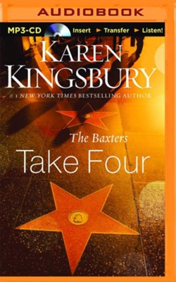 The Baxters Take Four - unabridged audio book on MP3-CD  -     By: Karen Kingsbury